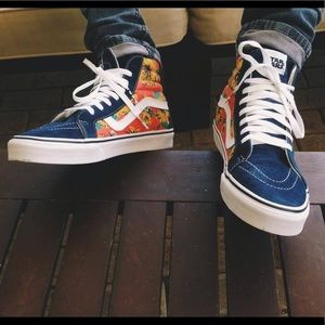 Vans Star Wars Sk8-Hi Reissue Yoda Aloha High Top